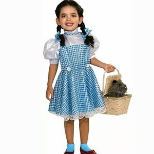 The Wizard Of Oz Dorothy plaid sequin child dress